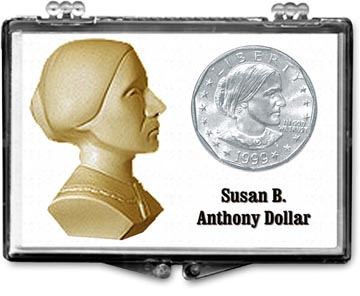Edgar Marcus Snaplock Display - Susan B. Anthony Bust
