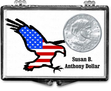 Edgar Marcus Snaplock Display - Susan B. Anthony Eagle