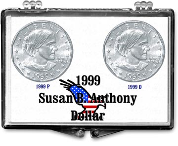 Edgar Marcus Snaplock Display - Susan B. Anthony P&D