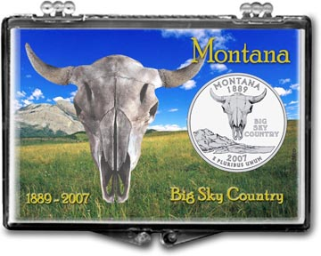 Edgar Marcus Snaplock Display - Montana, Big Sky Country