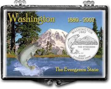 Edgar Marcus Snaplock Display - Washington, The Evergreen State