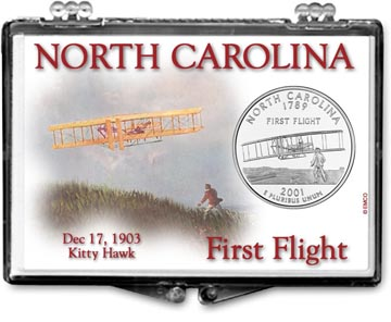 Edgar Marcus Snaplock Display - North Carolina, First Flight