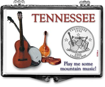 Edgar Marcus Snaplock Display - Tennessee, Play Me Some Mountain Music