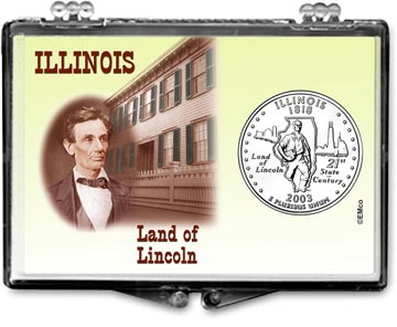 Edgar Marcus Snaplock Display - Illinois, Land of Lincoln