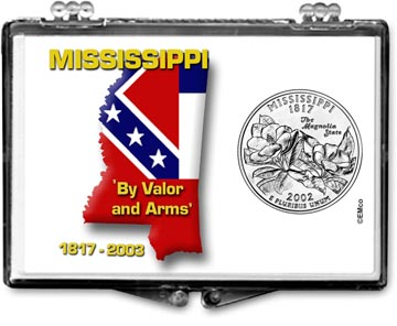 Edgar Marcus Snaplock Display - Mississippi, State Motto