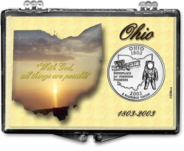 Edgar Marcus Snaplock Display - Ohio, State Motto