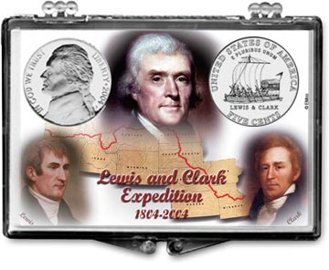 Edgar Marcus Snaplock Display - Jefferson - 2004 Lewis and Clark