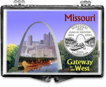 Edgar Marcus Snaplock Display - Missouri, Gateway to the West