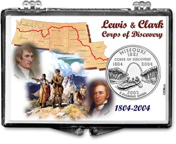 Edgar Marcus Snaplock Display - Missouri, Lewis & Clark