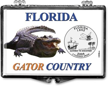 Edgar Marcus Snaplock Display - Florida, Gator Country