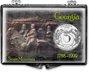 Edgar Marcus Snaplock Display - Georgia, Stone Mountain