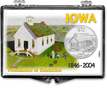 Edgar Marcus Snaplock Display - Iowa, Foundation In Education