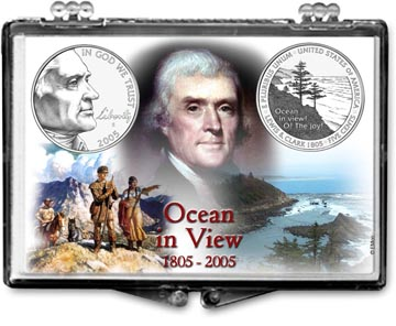 Edgar Marcus Snaplock Display - Jefferson - 2005 Ocean In View