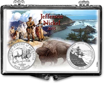 Edgar Marcus Snaplock Display - Jefferson --- 2005 Set of 2