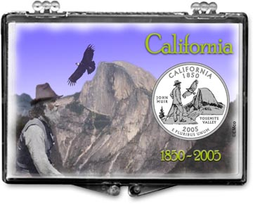 Edgar Marcus Snaplock Display - California, Yosemite, John Muir