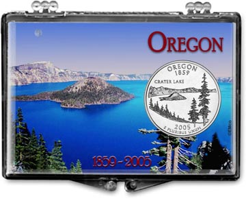 Edgar Marcus Snaplock Display - Oregon, Crater Lake