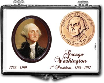 Edgar Marcus Snaplock Display - George Washington