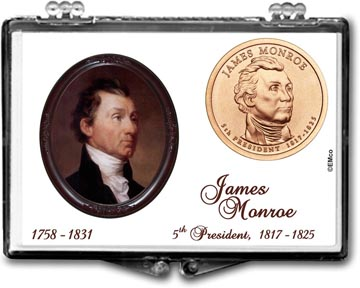 Edgar Marcus Snaplock Display - James Monroe