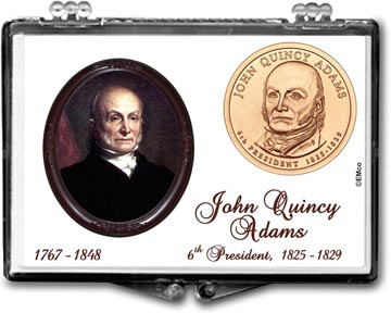 Edgar Marcus Snaplock Display - John Quincy Adams