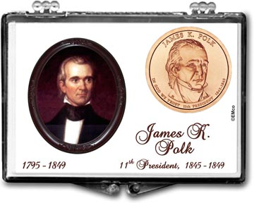 Edgar Marcus Snaplock Display - James K. Polk