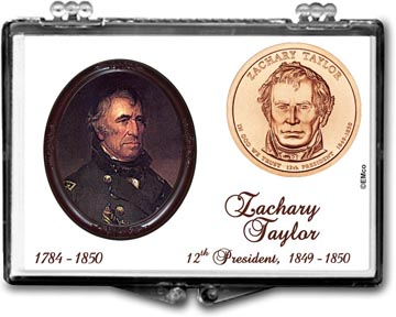 Edgar Marcus Snaplock Display - Zachary Taylor