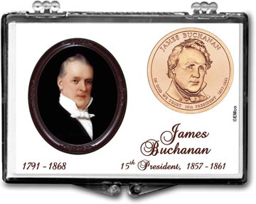 Edgar Marcus Snaplock Display - James Buchanan