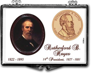 Edgar Marcus Snaplock Display - Rutherford B. Hayes