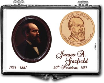Edgar Marcus Snaplock Display - James A. Garfield