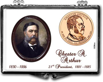 Edgar Marcus Snaplock Display - Chester A. Arthur
