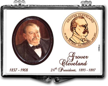 Edgar Marcus Snaplock Display - Grover Cleveland