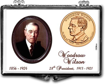Edgar Marcus Snaplock Display - Woodrow Wilson