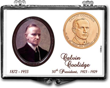 Edgar Marcus Snaplock Display - Calvin Coolidge