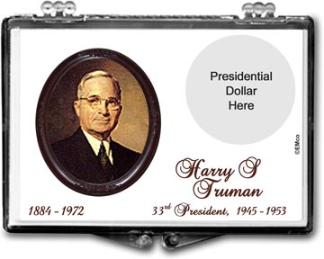 Edgar Marcus Snaplock Display - Harry S Truman