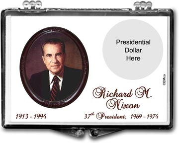 Edgar Marcus Snaplock Display - Richard M. Nixon