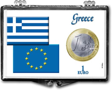 Edgar Marcus Snaplock Display - 1 Euro - Greece