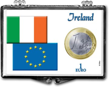 Edgar Marcus Snaplock Display - 1 Euro - Ireland