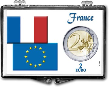 Edgar Marcus Snaplock Display - 2 Euro - France