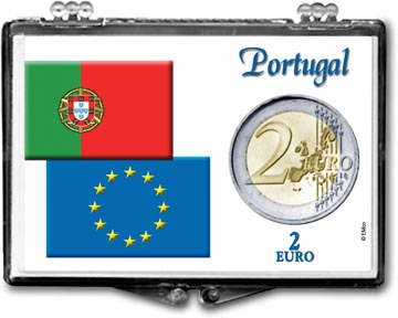 Edgar Marcus Snaplock Display - 2 Euro - Portugal