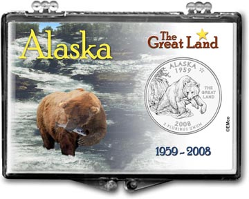 Edgar Marcus Snaplock Display - Alaska The Great Land
