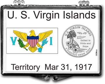Edgar Marcus Snaplock Display - US Virgin Islands