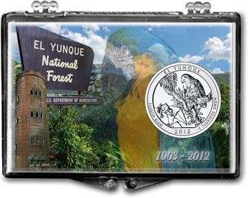 Edgar Marcus Snaplock Display - El Yunque National Forest