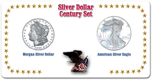 Edgar Marcus & Co Specialty Set Display - Silver Dollar Century Set