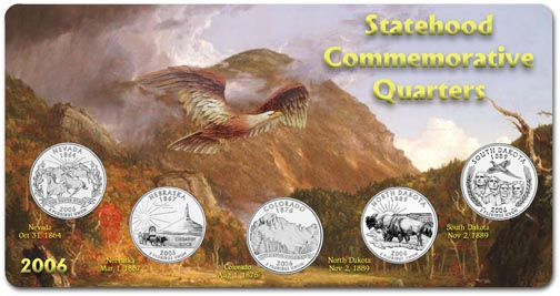 Edgar Marcus & Co Specialty Set Display - State Quarters, 2006