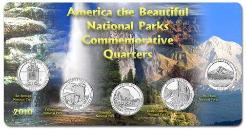 Edgar Marcus & Co Specialty Set Display - National Parks 2010