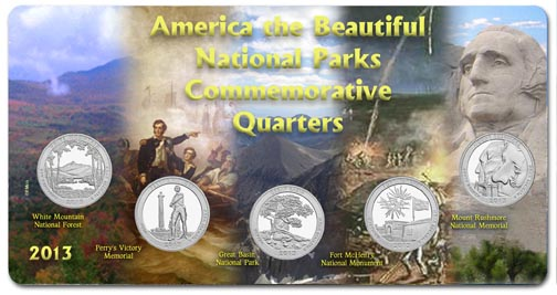 Edgar Marcus & Co Specialty Set Display - National Parks 2013