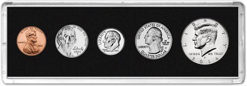 Edgar Marcus & Co Snap-Tite Deluxe Coin Set Holder - Black