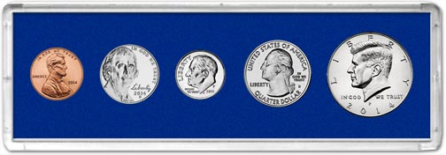 Edgar Marcus & Co Snap-Tite Deluxe Coin Set Holder - Blue