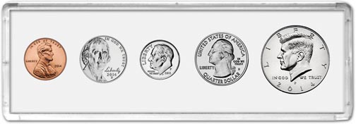 Edgar Marcus & Co Snap-Tite Deluxe Coin Set Holder - White