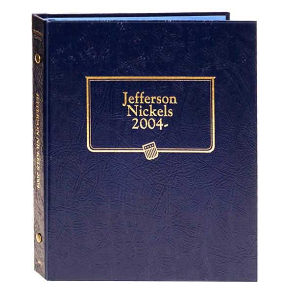 Whitman Classic Album - Jefferson Nickels 2004-2007