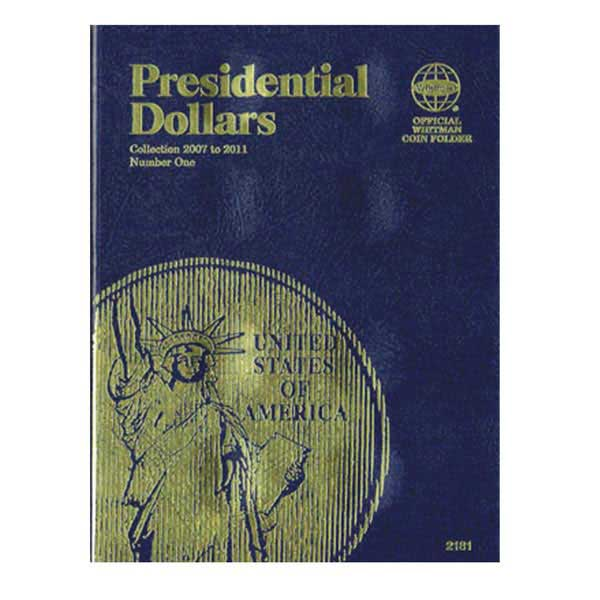 Whitman Folder - Presidential Dollars Date Set, vol 1